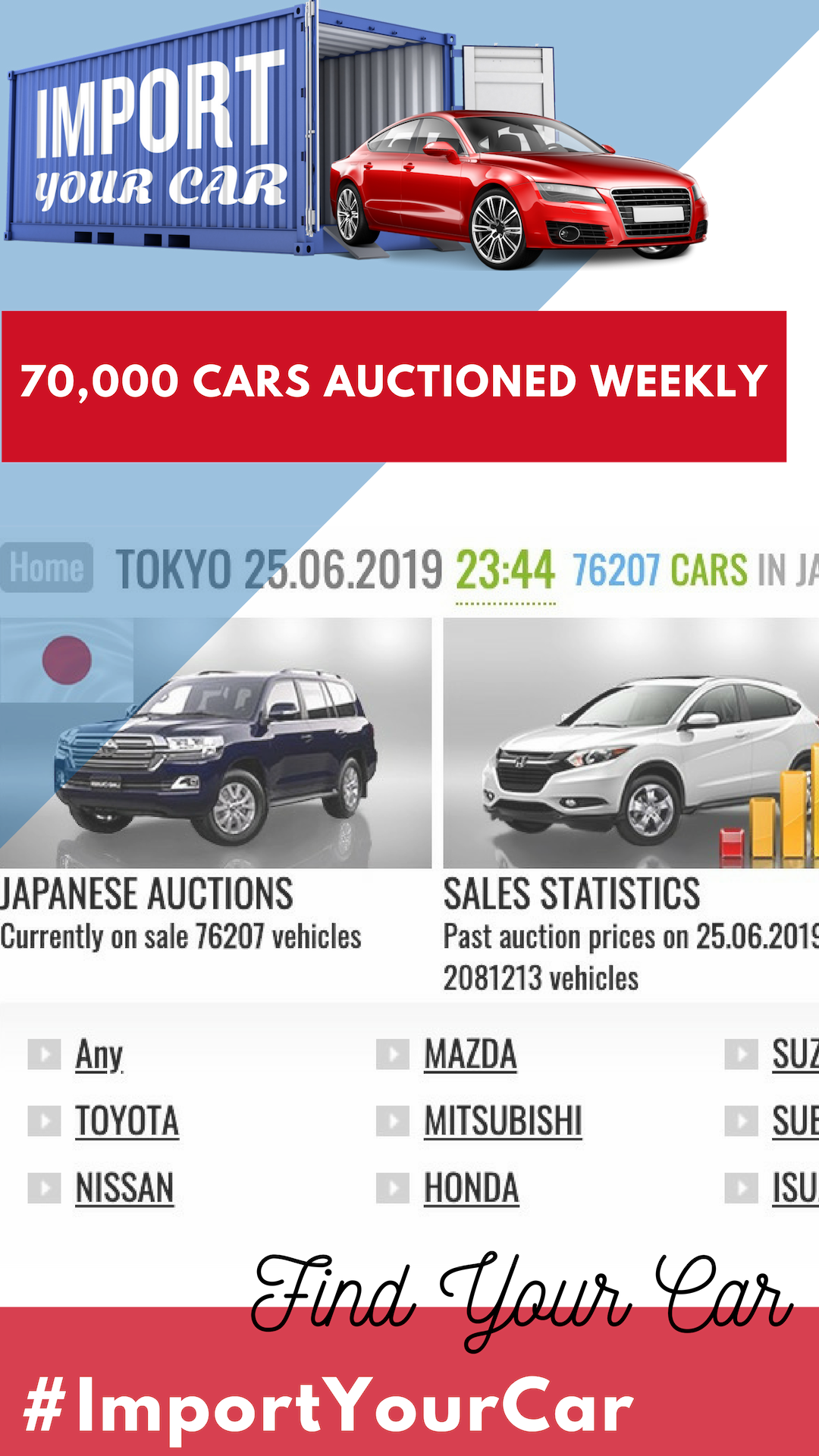 Import Your Car From Japan and $ave